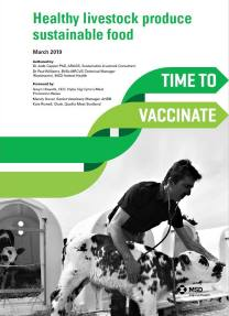 Screen shot of time to vaccinate home page - Click to go to PDF brochure